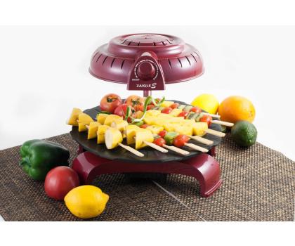 Zaigle Simple Everyday Grill czerwony-433271 - Zdjęcie 3