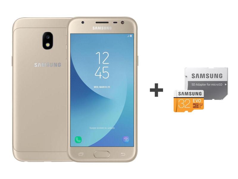 J 2 Samsung Galaxy Looc Tooldana Hi: Samsung Galaxy J3 2017 J330F Dual SIM LTE Złoty + 32GB