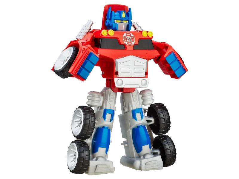Playskool transformers rescue bots optimus prime figurki