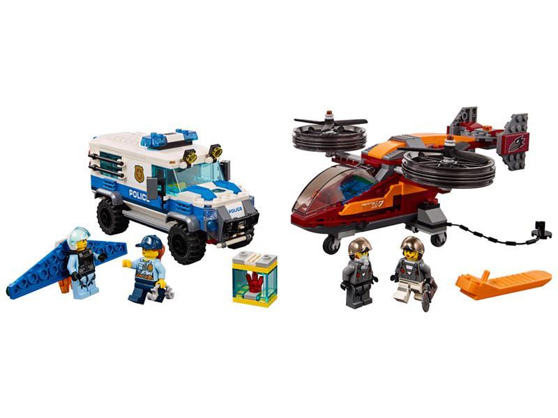 Lego City Rabunek Diamentów Klocki Lego Sklep Internetowy Alto