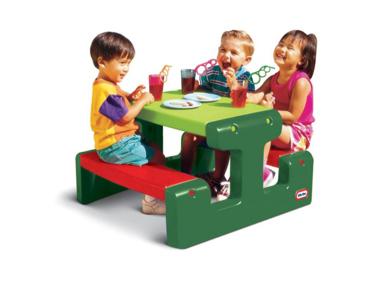 Little Tikes Mały stolik ogrodowy dla dzieci zielony