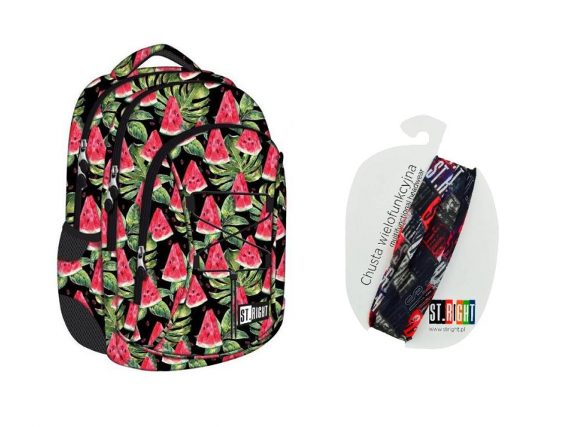 d61e7b1580109 Majewski ST.Right Plecak Watermelon BP-23 + piórnik - Plecaki - Sklep  internetowy - al.to
