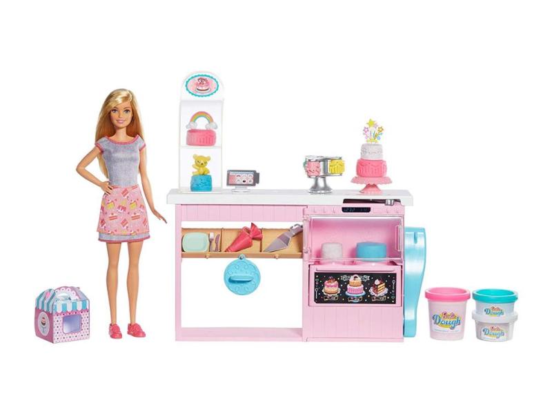 Barbie Pracownia Wypieków + Lalka