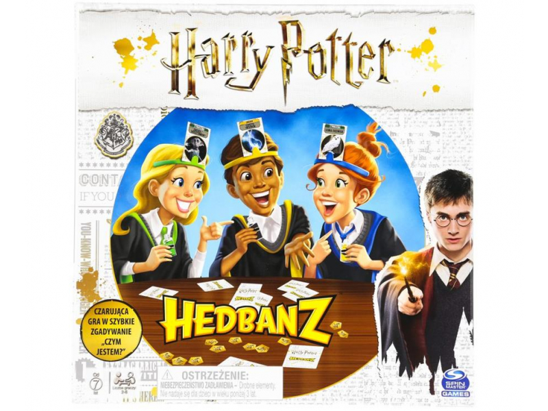 Spin Master Gra Hedbanz Harry Potter
