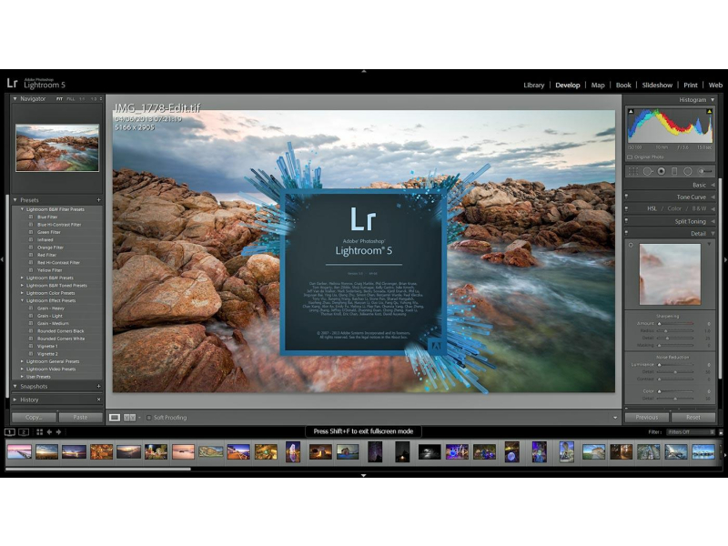 Lightroom 5 includes a variety of easy-to-use book templates, and now you can edit them to create a customized look. Upload your book for printing with just a few clicks. Learn more about Photoshop Lightroom 5 for Windows & Mac - Student & Teacher Edition5/5(2).