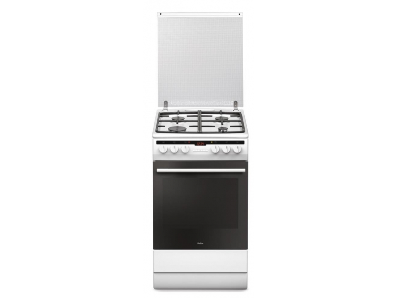 Amica 57GE3 43HZpTaDNAQ(W) biała gazowo elektryczna 50cm  Kuchnie  Sklep in