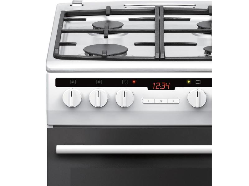 Amica 57GE3 43HZpTaDNAQ(W) biała gazowo elektryczna 50cm  Kuchnie  Sklep in   -> Biala Kuchnia Eklektyczna