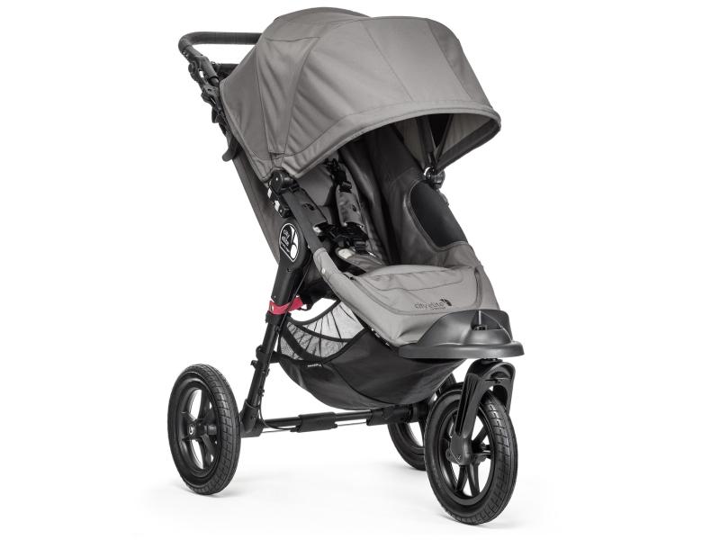 Baby Jogger City Elite Single Gray - Wózki spacerowe - Sklep internetowy - al.to