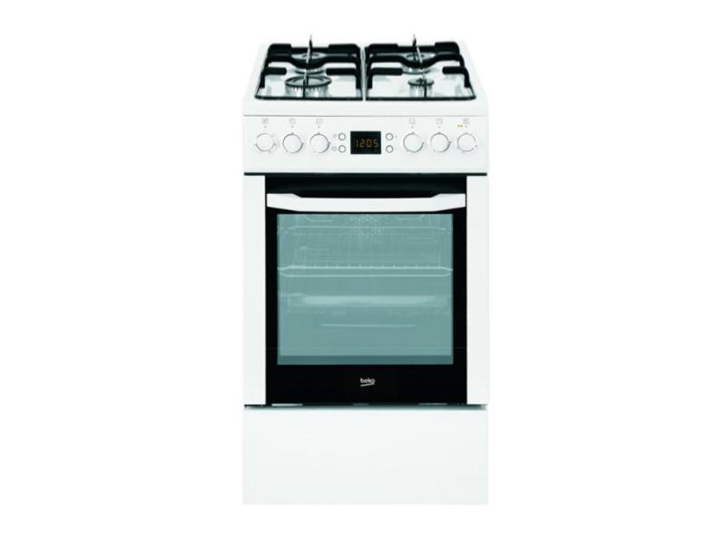 Beko CSE52320DW biała gazowo elektryczna 50cm  Kuchnie  Sklep internetowy  -> Kuchnia Gazowo Elektryczna Beko Opinie