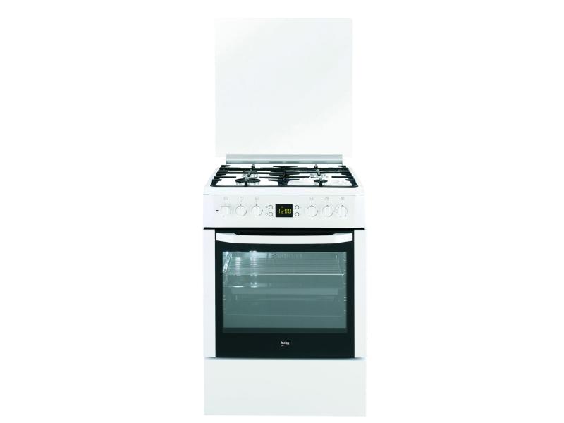 Beko CSM62322DW biała gazowo elektryczna 60cm  Kuchnie  Sklep internetowy  -> Kuchnia Gazowo Elektryczna Beko Opinie
