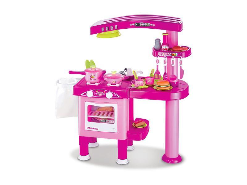 KinderKraft Kuchnia deluxe różowa  AGD dla dzieci  Sklep internetowy  al to -> Kuchnia Dla Dzieci Kinderkraft Opinie