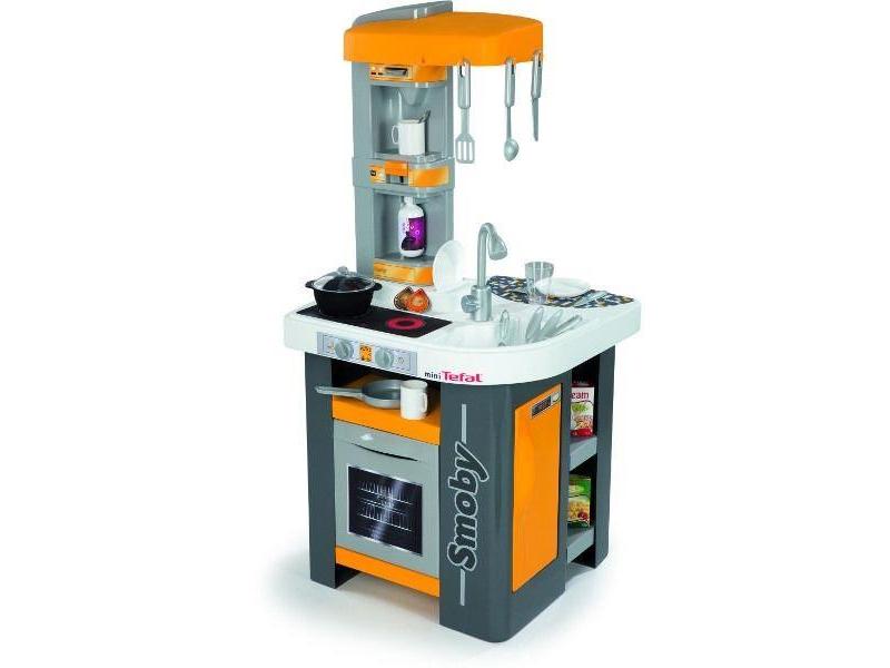 Smoby Kuchnia Mini Tefal studio pomarańczowa  AGD dla   -> Kuchnia Tefal Biedronka
