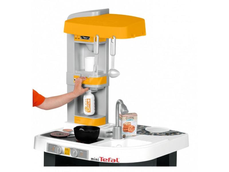 Smoby Kuchnia Mini Tefal studio pomarańczowa  AGD dla dzieci  Sklep interne   -> Kuchnia Tefal Ceneo