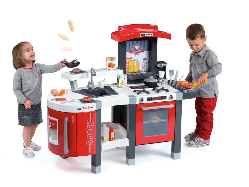 Smoby Kuchnia mini Tefal Superchef  AGD dla dzieci  Sklep internetowy  al to -> Kuchnia Dla Dzieci Little Chef