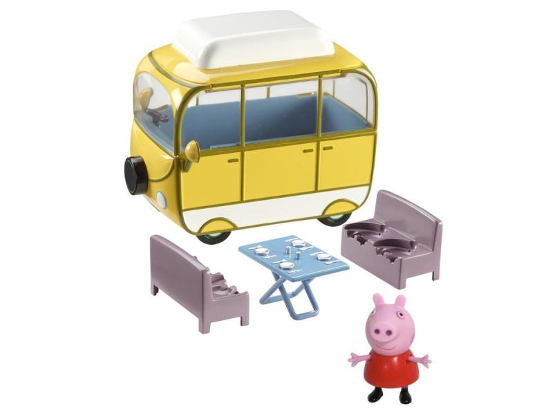 Znalezione obrazy dla zapytania świnka peppa kamper