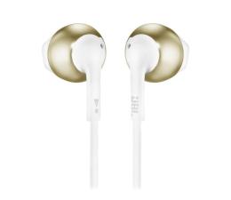Słuchawki przewodowe JBL T205 Złote