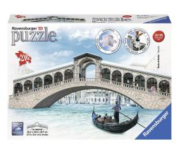 Puzzle do 500 elementów Ravensburger 3D Ponte di Rialto Most 216 el