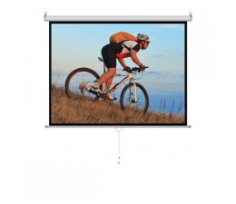 """Ekran projekcyjny ART Ekran ręczny półautomat 120"""" 244x183 4:3"""