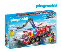 Klocki PLAYMOBIL ® PLAYMOBIL Pojazd Strażacki na lotnisku ze światłem
