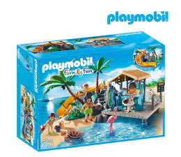 Klocki PLAYMOBIL ® PLAYMOBIL Karaibska wyspa z barem na plaży