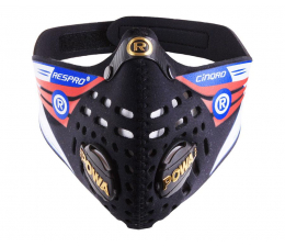 Maska antysmogowa Respro Cinqro Black L