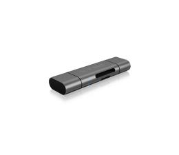 Czytnik kart do smartfonów ICY BOX Czytnik kart microSD USB (microUSB) - USB-C