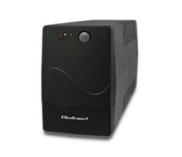 Zasilacz awaryjny (UPS) Qoltec Monolith 650VA 360W 2 x FR