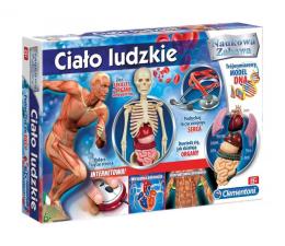 Zabawka edukacyjna Clementoni Ciało Ludzkie