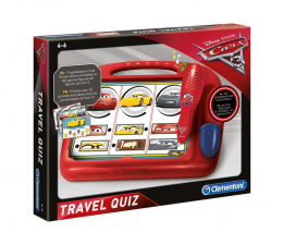 Zabawka edukacyjna Clementoni Disney Travel Quiz Cars