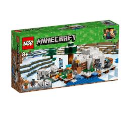 Klocki LEGO® LEGO Minecraft Igloo niedźwiedzia polarnego