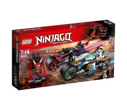 Klocki LEGO® LEGO Ninjago Wyścig uliczny Wężowego Jaguara
