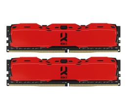 Pamięć RAM DDR4 GOODRAM 16GB (2x8GB) 3000MHz CL16 IRDM X Red