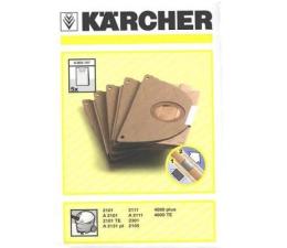 Akcesoria do odkurzaczy Karcher Worki filtracyjne-zestaw (5 sztuk)