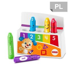Zabawka dla małych dzieci Fisher-Price Uczące kredki Kolorki Humorki