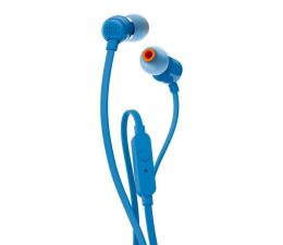 Słuchawki przewodowe JBL T110 Niebieskie