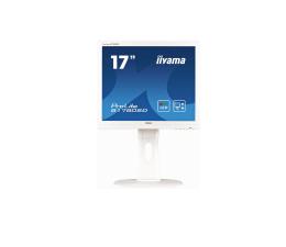 """Monitor LED 21"""" i mniejszy iiyama B1780SD biały"""