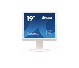 """Monitor LED 21"""" i mniejszy iiyama B1980SD biały"""