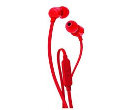 Słuchawki przewodowe JBL T110 Czerwone