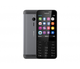 Smartfon / Telefon Nokia 230 Dual SIM szary