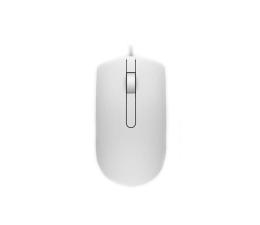 Myszka przewodowa Dell MS116 optyczna biała USB