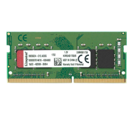 Pamięć RAM SODIMM DDR4 Kingston 8GB (1x8GB) 2666MHz CL19