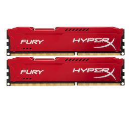 Pamięć RAM DDR3 HyperX 16GB (2x8GB)1600MHz CL10 Fury Red