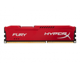 Pamięć RAM DDR3 HyperX 4GB (1x4GB) 1600MHz CL10 Fury Red