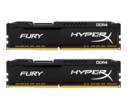 Pamięć RAM DDR4 HyperX 16GB 2400MHz Fury Black CL15 (2x8GB)