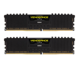 Pamięć RAM DDR4 Corsair 16GB 3000MHz Vengeance LPX Black CL15 (2x8GB)