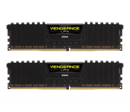 Pamięć RAM DDR4 Corsair 16GB (2x8GB) 3200MHz CL16 Vengeance LPX Black