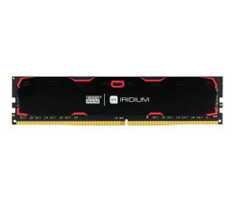 Pamięć RAM DDR4 GOODRAM 8GB(1x8GB) 2400MHz CL15 IRIDIUM Black