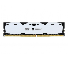 Pamięć RAM DDR4 GOODRAM 8GB (1x8GB) 2400MHz CL15 IRIDIUM White