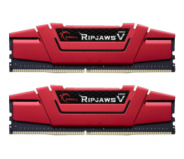 Pamięć RAM DDR4 G.SKILL 16GB (2x8GB) 3200MHz CL14 Ripjaws V Red