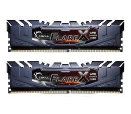 Pamięć RAM DDR4 G.SKILL 32GB (2x16GB) 2400MHz CL15 FlareX Black Ryzen